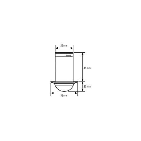 Esylux Decken-Präsenzmelder PD-C360/8 mini Slave
