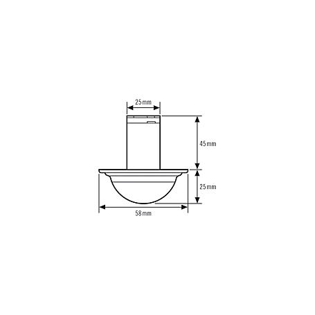 Esylux Decken-Präsenzmelder PD-C360i/12 mini KNX