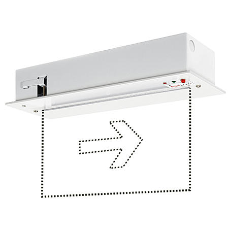 Esylux Notleuchte SLC LEDi SC/C 25m EKW 3W EB