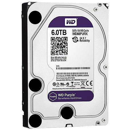 Western Digital Festplatte - WD Purple 6 TB