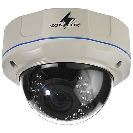 MONACOR TVCCD-257SET Dome-Farbkamera