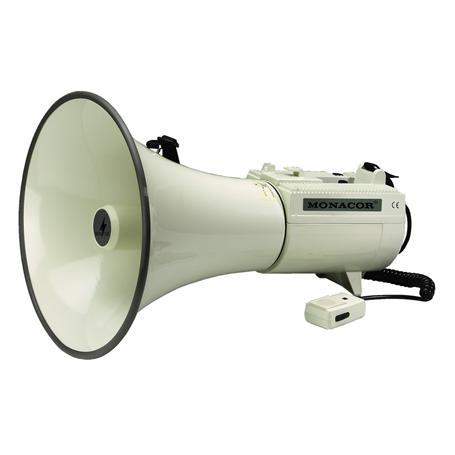 MONACOR TM-45 Megaphon mit Gewinde für Stativ