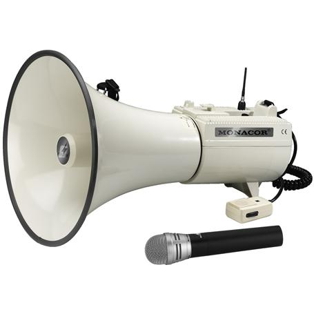 MONACOR TXM-48 Funkmegaphon mit Mikrofonsender