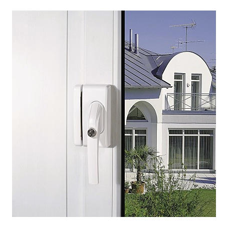 Funk-Fenstergriffsicherung FO400 E AL0089 braun