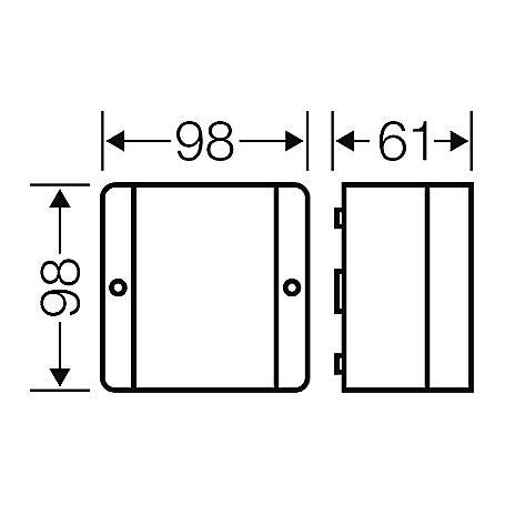Hensel Kabelabzweigkasten D 9045 1,5-4qmm 3ph 6qmm