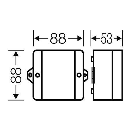Hensel Kabelabzweigkasten D 9120 -2,5qmm 3ph. 4qmm