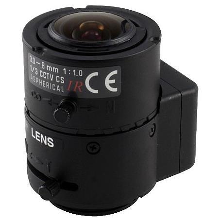 Eneo F03Z2.6DC-NFSHR F1,0/3-8mm DC-Objektiv