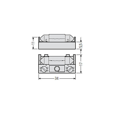 Renz Beleuchtungshalter + Soffitte 15V 97-9-85131