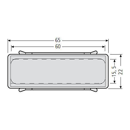 Renz Beschriftungs-Einlage 60 x 65 mm 97-9-87119