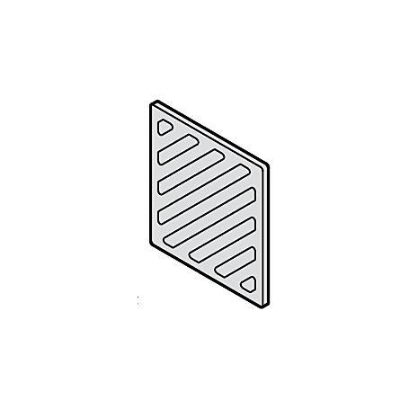 Renz Sprechgitter Kunststoff 97-9-00092 -  weiß