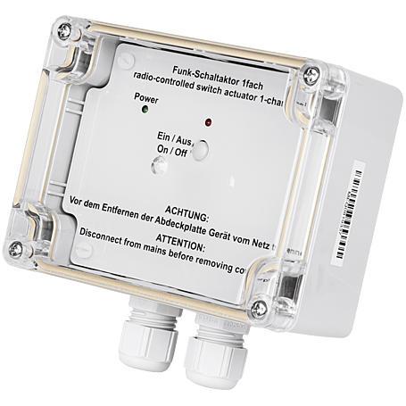 HomeMatic Funk-Schaltaktor 1-fach AP HM-LC-Sw1-SM