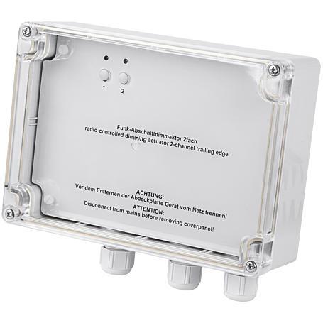 HomeMatic Funk-Dimmaktor 2-fach HM-LC-Dim2T-SM