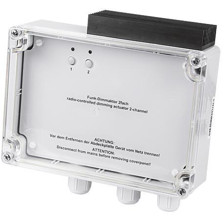 HomeMatic Funk-Dimmaktor 2-fach HM-LC-Dim2L-SM