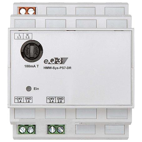 HomeMatic Netzteil 7VA 24V MEAN WELL DR-60-24
