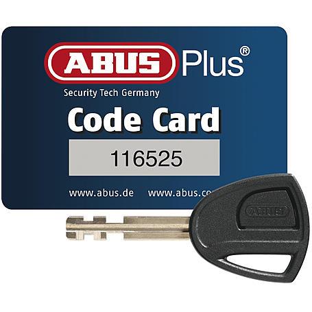 Abus Bügelschloss uGrip 501/160HB230+USH501 white