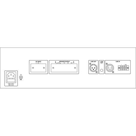 MONACOR PA-940S ELA-Verstärker