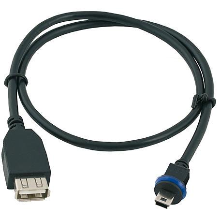 Mobotix MX-CBL-MU-STR-AB-05 MiniUSB Kabel 0,5m