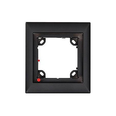Mobotix 1er Rahmen, schwarz