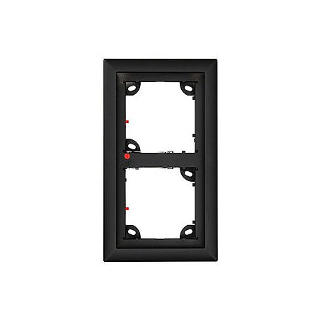 Mobotix 2er Rahmen, schwarz