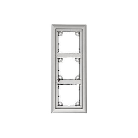 Mobotix 3er Rahmen, silber