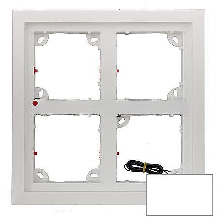 Mobotix 4er Rahmen, weiß