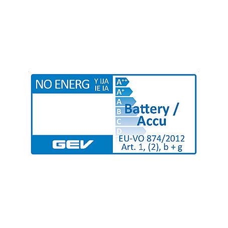 GEV Solar-LED-Strahler Duo LPL 858 + Akku, schwarz