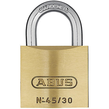 Abus Messing-Vorhangschloss 45/30 Triples 3er Set