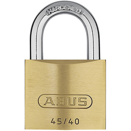 ABUS Messing-Vorhangschloss 45/40 Twins 2er Set