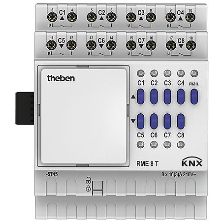 Theben Schaltaktor/Jalousieaktor RME 8 T KNX