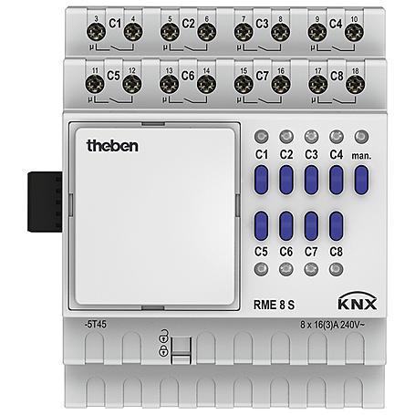 Theben Schaltaktor RME 8 S KNX
