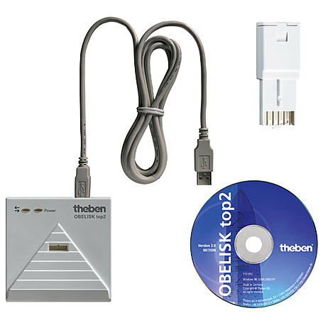 Theben Programmierset PC-Set OBELISK top2
