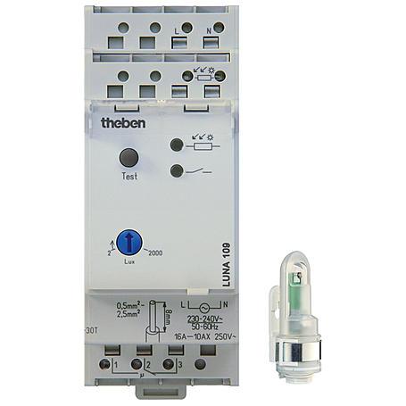 Theben Dämmerungsschalter LUNA 109 AL +Lichtsensor
