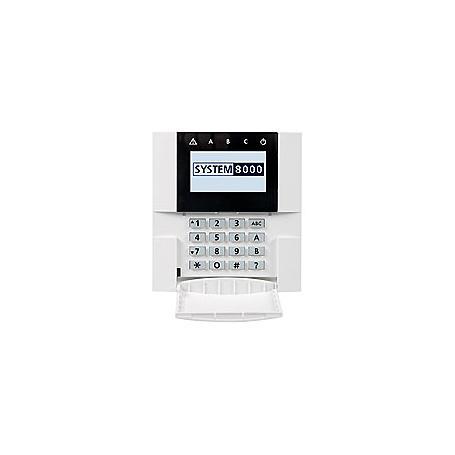 Indexa 8001E/RGB Bedienteil draht Farb-LCD-Display