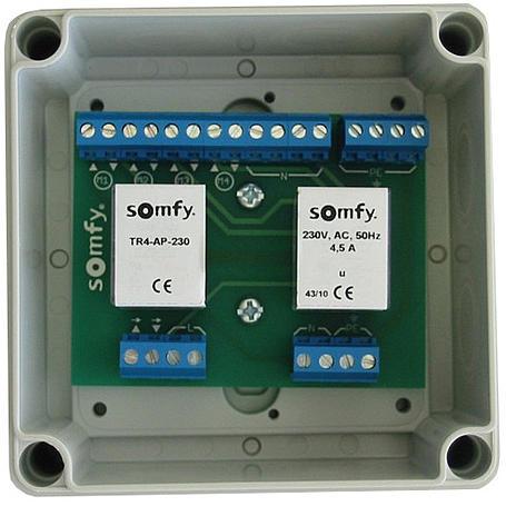 Somfy Trennrelais TR4-AP-230 für 4 Antriebe