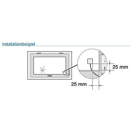 Somfy Protexial Funk-Öffnungs-Glasbruchmelder - w