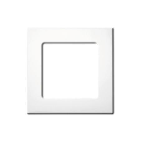 Somfy 1-fach Smoove Rahmen - Pure (weiß)