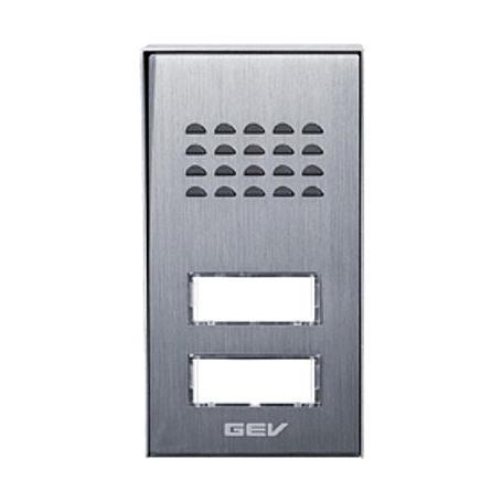GEV Außeneinheit CAS Audio-Türsprechanlage 2-Fam.
