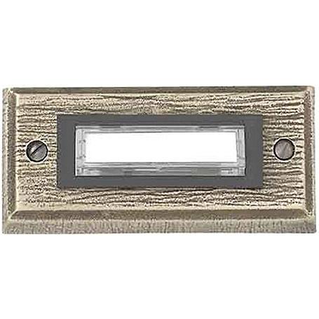 Friedland Kontaktplatte E26/1, Bronzeguß