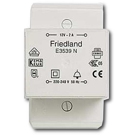 Friedland Klingeltransformator E3539N VDE 12V/2A