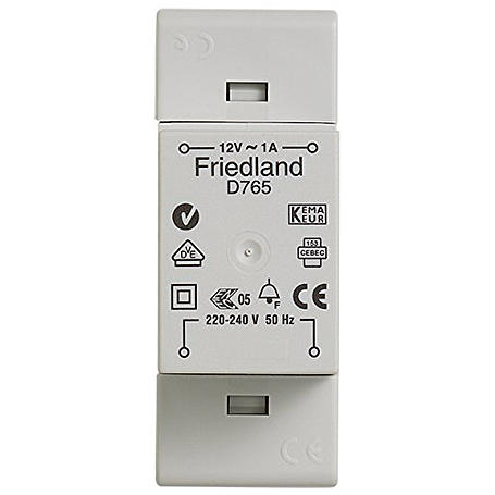 Friedland Klingeltransformator D765 VDE 12 V/1 A