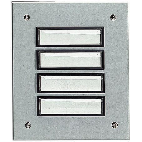 Grothe Etagenplatte ETA 804 EV1 Alu/silber elox.