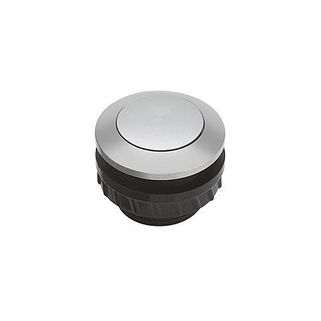 Grothe Klingeltaster PROTACT 110 AL, Aluminium EV1