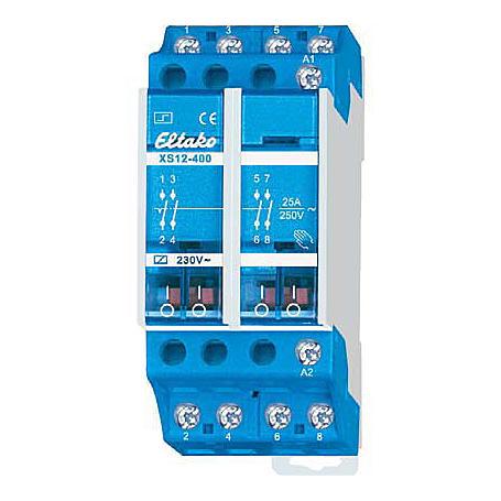 Eltako Stromstoßschalter 4S 25A XS12-400-230V