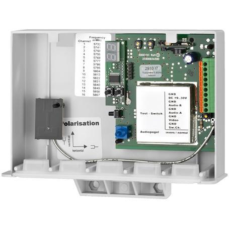 MONACOR AV-5820TX Sendereinheit, IP54