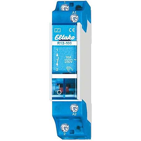 Eltako Schaltrelais Reihen-EB 1S 16A R12-100-230V