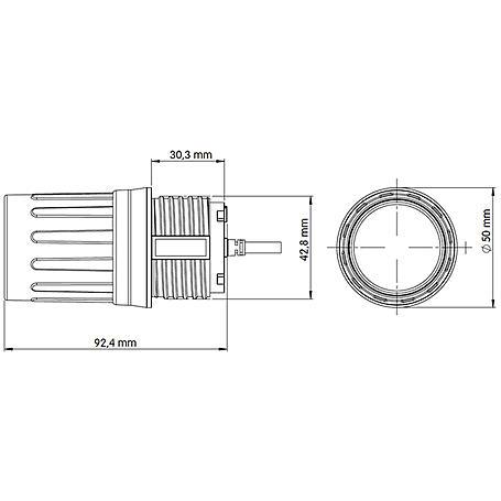 Mobotix MX-SM-D045-100-CS Sensormodul S/M15 6MP D