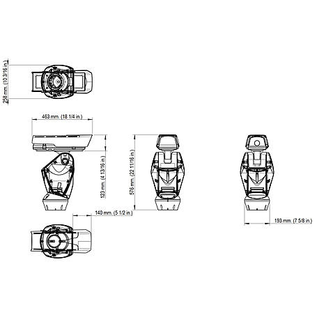 Axis Q8631-E 230V AC 35 mm 30 fps QVGA PT IP66