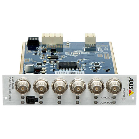 Axis T8646 POE+ OVER COAX KIT, 6-Kanal