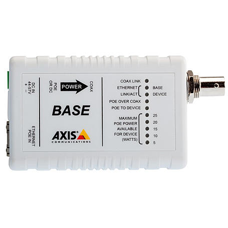 Axis T8641 POE+ OVER COAX BASE, Base Einheit
