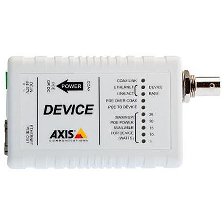 Axis T8642 POE+ OVER COAX DEVI, Device Einheit